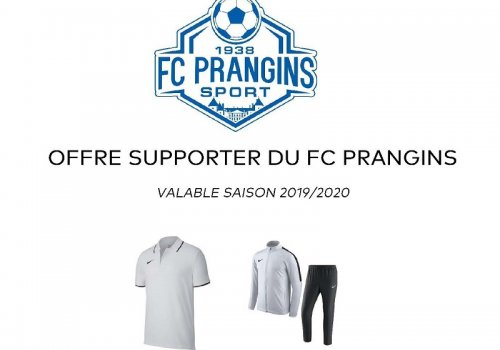 Offre supporters !