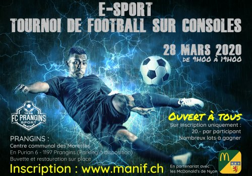 Tournoi de Football sur consoles (28.03.2020)